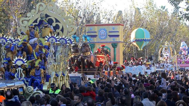 La Cabalgata de Reyes Magos de Sevilla