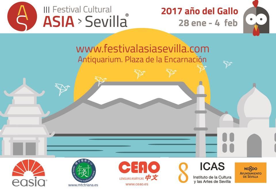 Festival en Sevilla sobre la cultura Asiática