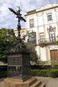 sevillavisita plaza santa cruz
